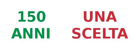 Logo 150 anni, una scelta